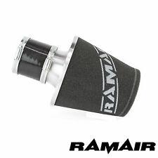 Ramair silver aluminium Filtre à air universel avec couplage 80mm ID