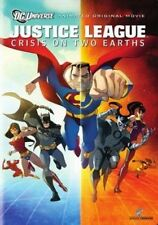 Justice League Crisis on Two Earths 0883929094585 With James Woods DVD Region 1