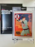 Topps Project 2020 MIKE TROUT by FUCCI #63 2011 Update RC SP PR/ 16,430  IN HAND