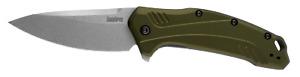 Kershaw Link Liner Lock Knife Olive Green Anodized Aluminum 20CV Steel 1776OLSW
