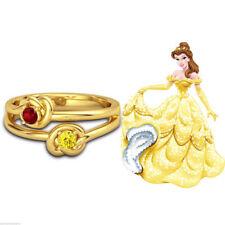 Wedding Round Citrine Sterling Silver Fine Rings