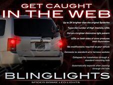 BlingLights White LED Spider Light Bulbs for Honda Pilot Tail Lamps