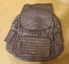 New Kipling Women's City Pack S Backpack (Shiny Grey)
