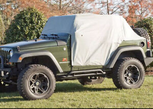 Rugged Ridge Cab Cover Weather Lite FOR Jeep Wrangler JK 07-20 2-DR