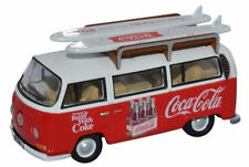 BNIB OO GAUGE OXFORD 1:76 76VW030CC VW BAY WINDOW BUS / VAN COCA-COLA