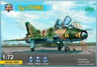 ModelSvit 72050 - Fitter Su-17UM3 advanced two-seat trainer 1/72 scale model