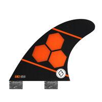 Shapers Fins - AM2 Quad Rears (FCS) - Orange - Large - Surfboard - Surf - New