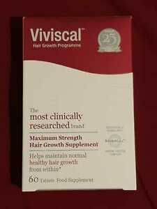 Viviscal Maximum Strength Hair Growth Supplement 60 Tablets - With Box