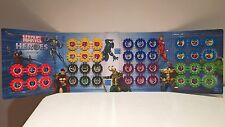 Woolworths Marvel Super Heroes Disc Complete Full Set of 42 With Album
