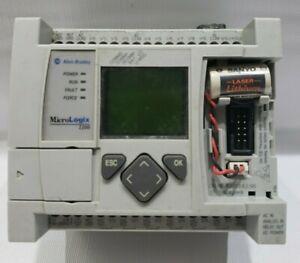 Allen-Bradley MicroLogix 1100 1763-L16AWA PLC Controller Ser. A Rev C FRN 3