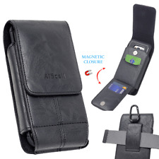 For Samsung Galaxy A51 Wallet Carrying Case Faux Leather Pouch Belt Clip Holster