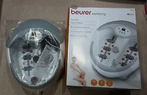 Beurer Luxury Foot Spa with Water Heater + Bubble & Vibration Massage 'BRAND NEW