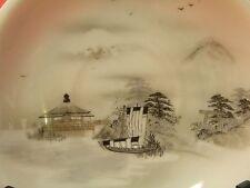 111) Untertasse 14,2 cm Lupenmalerei um 1900 Japan Bodenmarke Kutani Signatur