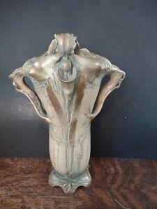 Bohemian Art Nouveau Amphora  Vase - RSTK Stellmacher Teplitz? Unusual