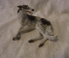 Rosenthal Barsoi Windhund Greyhound Figur Hund Dog #^