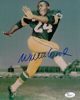 PACKERS Willie Wood signed 8x10 photo JSA COA AUTO Autographed Green Bay HOFer
