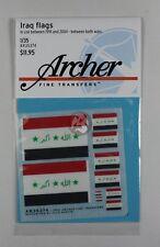 Archer 1/35 Iraq flags (1991-2004) (5 flags, 4 sizes) [Decal Diorama] AR35374