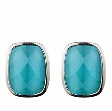 DYRBERG/KERN - TSAVO TURQUOISE JADE STONE EARRINGS