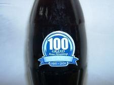 2011 Grand Home Furnishings 100 Years Coca-Cola Coke Bottle