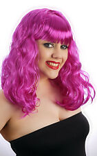 Pour femme Violet California Girl Style Katy Perry Perruque Costume Robe fantaisie