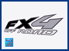 set of 2: 1998 Ford F150 FX4 Off Road Decals Stickers FB Black Offroad bed side