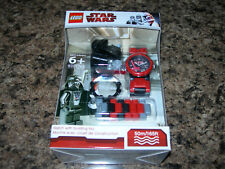 SEALED LEGO Star Wars DARTH VADER WATCH & Minifigure complete 50m NEW 9001765