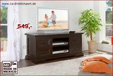Massivholz TV-Schrank Lowboard Hifi Fernsehtisch Sideboard MEXICO Kolonialstil