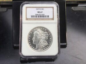 1879-S Morgan Silver Dollar MS 67 NGC