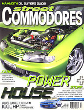 Street Commodores Magazine No 122 - 1000HP Turbo Stroker Ute - VGCond  Free Post