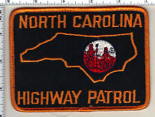Highway Patrol (North Carolina) Shoulder Patch from the 1980's