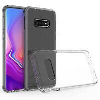 Schutzhülle Silikon - Für Samsung Galaxy Note 8 9 10 10+ Slim TPU Case - klar