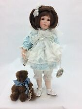 "Cottage Collectibles ""Lisa"" Porcelain Doll by Ganz (Doll # 1107 of 3600)"