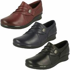 Ladies Clarks Casual Wedge Heel Shoes Hope Roxanne
