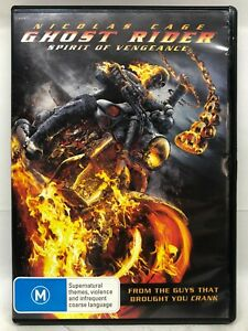 Ghost Rider - Spirit of Vengeance - DVD - AusPost with Tracking