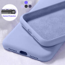 Shockproof Velvet Liquid Silicone Soft Case For Xiaomi Redmi 9 9A 9C Mi Note 10