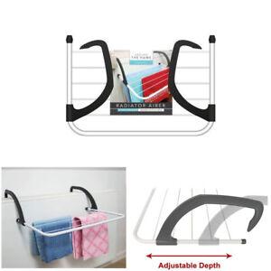 Radiator Clothes Airer Hanging Dryer Laundry Towel Drying Rack Caravan Indoor