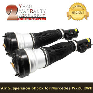 2pcs Front Air Suspension Strut For Mercedes W220 S Class S350 S430 S500 AMG New