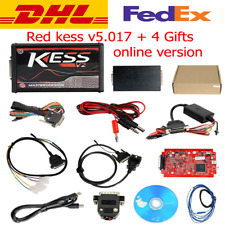 New RED KESS V2 V5.017  EU Master Online 100% No Tokens Free DHL + 4 Gifts