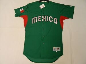 Authentic Team Mexico 2017 WBC World Baseball Classic Jersey Reg.$309 Green 40