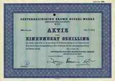 Oesterreichische Brown Boveri AG ABB Asea 1959 Wien Mannheim Linz Graz Innsbruck