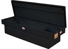 RKI TOOL BOX C-63B, STEEL CROSSBOX, SINGLE LID, POWDER COATED BLACK
