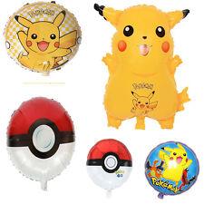 """Pokemon Go Pikachu Helium Ball Foil Balloon Party Birthday Pokemon Celebrate 18"""""""