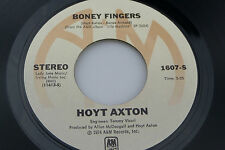 Hoyt Axton: Boney Fingers / Life Machine [Unplayed Copy]