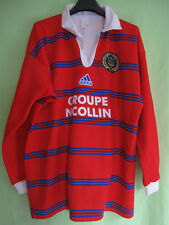 Maillot Rugby ASBH AS Béziers Hérault Groupe Nicolin Vintage Jersey - XL
