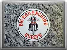 "HELL'S ANGELS Support 81 Autocollant Sticker ""Grand Rouge Machine Europe"" A03"