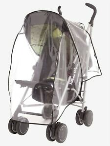 Raincover For Pushchair Stroller Baby Car Clear Fits Most Strollers