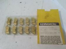 (10) NIB Kennametal NR3078R KC850 Carbide Inserts