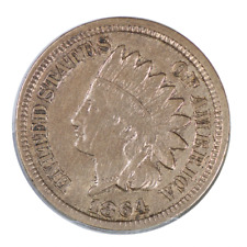1864 Indian Cent CN Very Fine