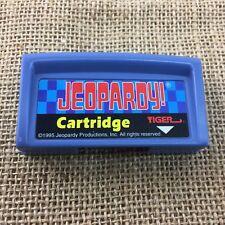 Jeopardy Cartridge Tiger Electronics Cartridge 1995 Vintage