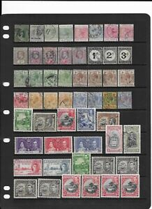 7 scans Collection of mixed mint & fine used Grenada stamps.